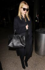 ROSIE HUNTINGTON-WHITELEY at Los Angeles International Airport 01/24/2017