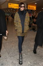 RUBY ROSE at Heathrow Airport in London 01/10/2017