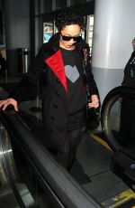 RUTH NEGGA at Los Angeles International Airport 01/12/2017