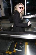 SABRINA CARPENTER at LAX Airport in Los Angeles 01/12/2016