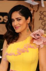 SALMA HAYEK at 23rd Annual Screen Actors Guild Awards in Los Angeles 01/29/2017