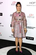SALMA HAYEK at Harper's Bazaar 150 Most Fashionable Women Party in Hollywood 01/27/2017
