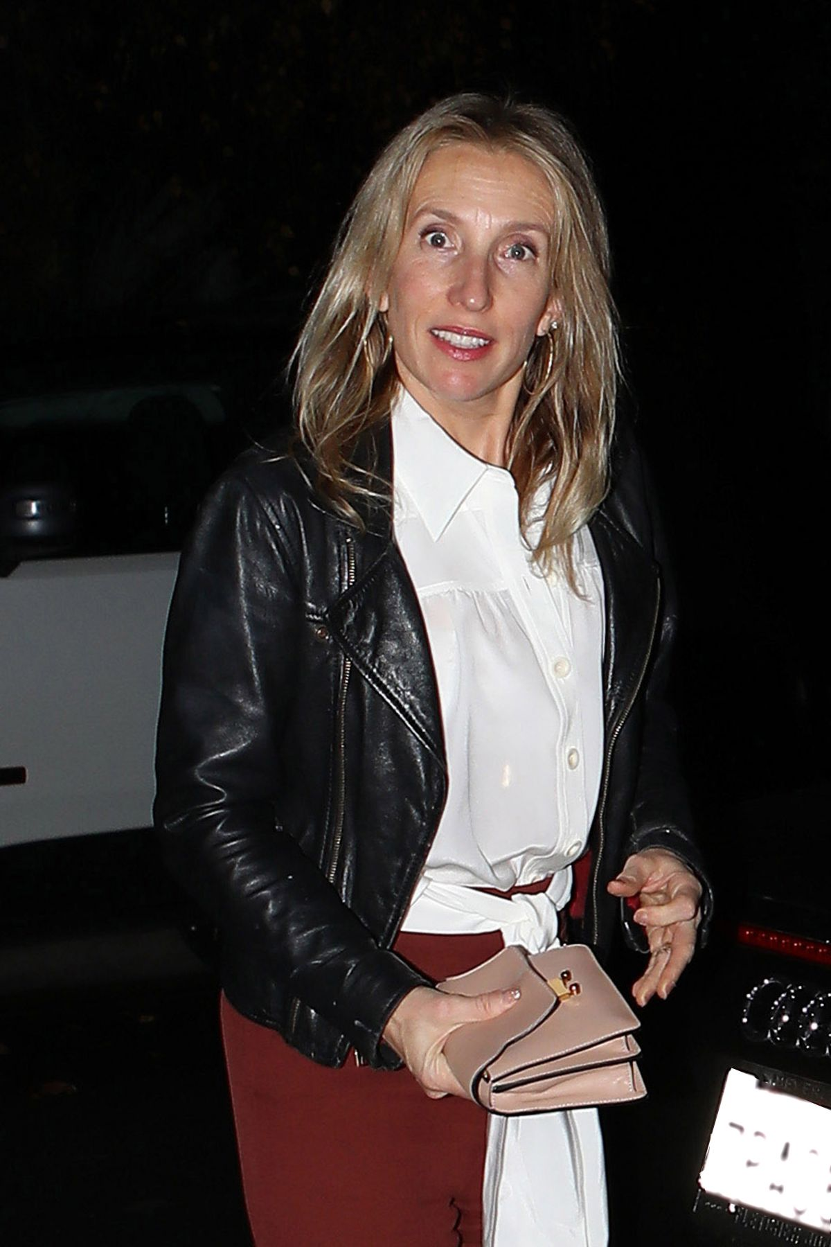 SAM TAYLOR-JOHNSON at Bradley Cooper's Birthday Bash in Los Angeles 01/05/2017