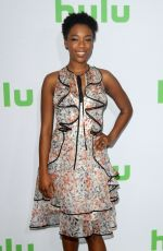 SAMIRA WILEY at Hulu's Winter TCA 2017 in Los Angeles 01/07/2017