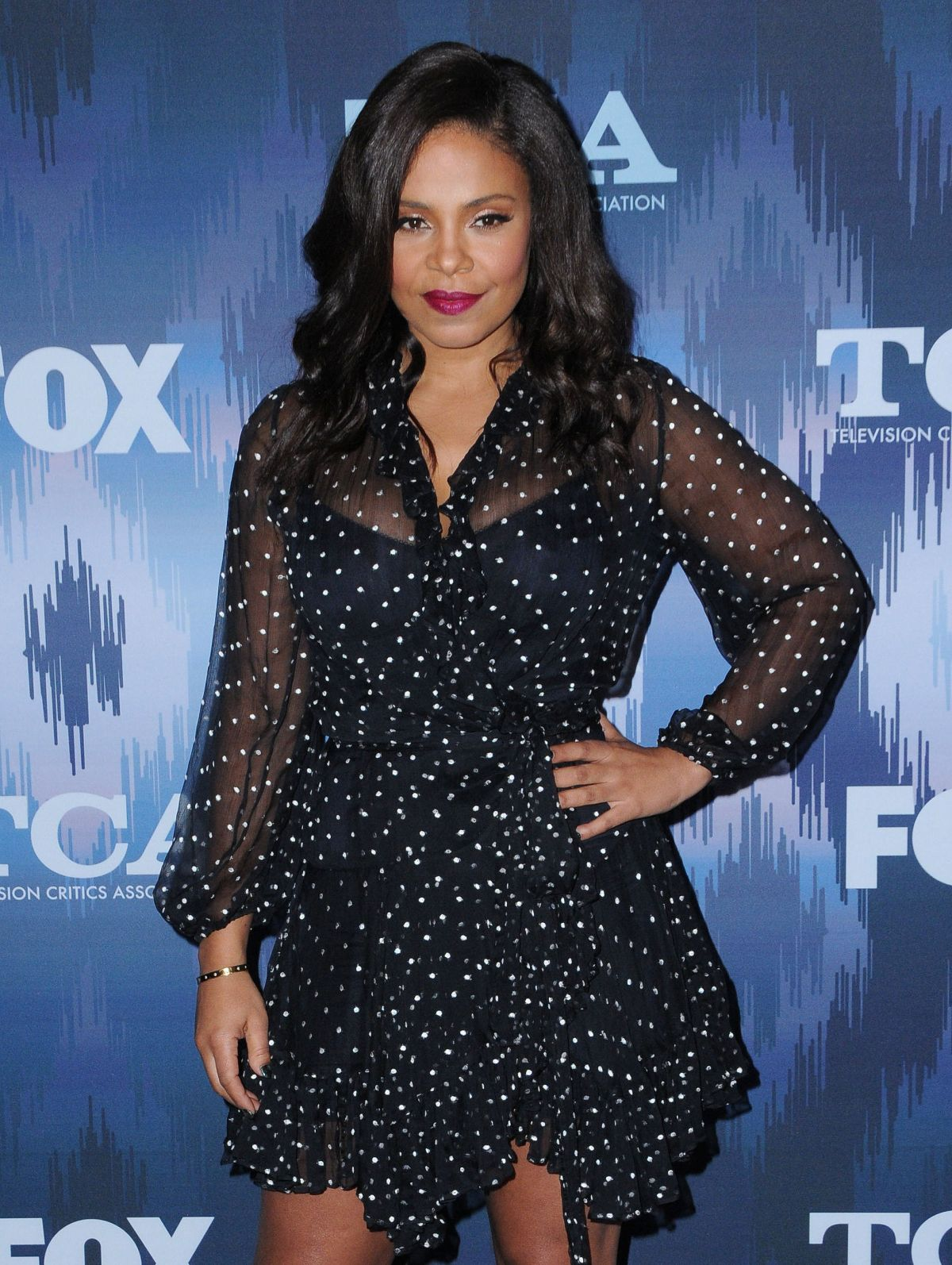 SANAA LATHAN at Fox All-star Party at 2017 Winter TCA Tour in Pasadena 01/11/2017