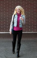 SARA BARRETT Out and About in Seattle 01/04/2017
