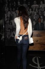 SARA SAMPAIO at Catch LA in West Hollywood 01/24/2017