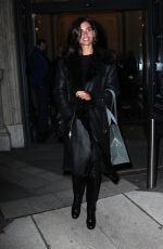 SARA SAMPAIO Night Out in Milan 01/13/2017