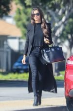 SARA SAMPAIO Out and About in Los Angeles 01/24/2017