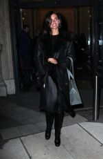 SARA SAMPAIO Out and About in Miln 01/13/2017