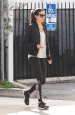 SARA SAMPAIO Out and About in West Hollywood 01/23/2017
