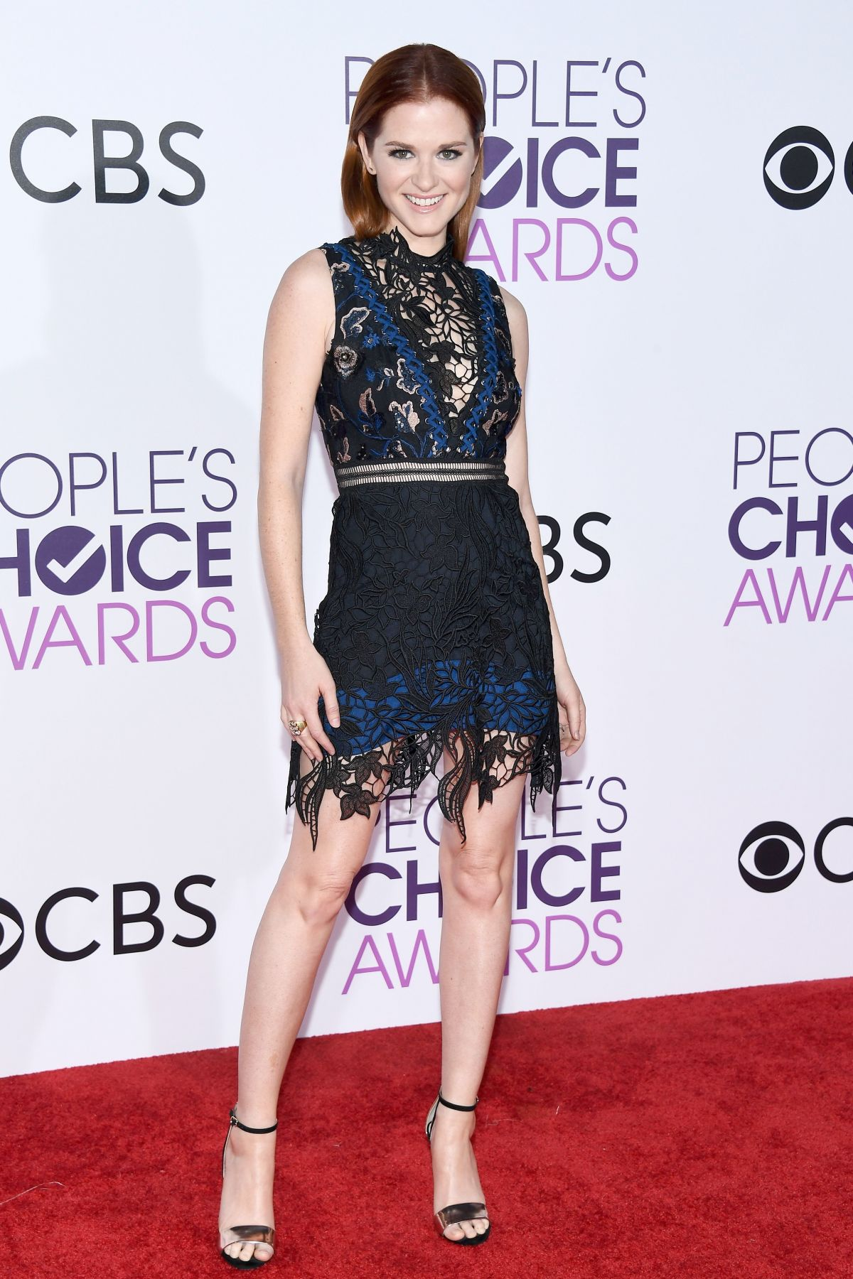 SARAH DREW at 43rd Annual People's Choice Awards in Los Angeles 01/18/2017