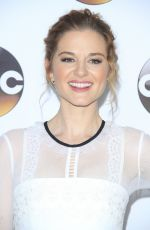 SARAH DREW at Disney/ABC 2017 Winter TCA Tour in Pasadena 01/10/2017