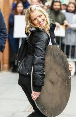 SARAH HAINES at ABC Studios in New York 01/12/2017