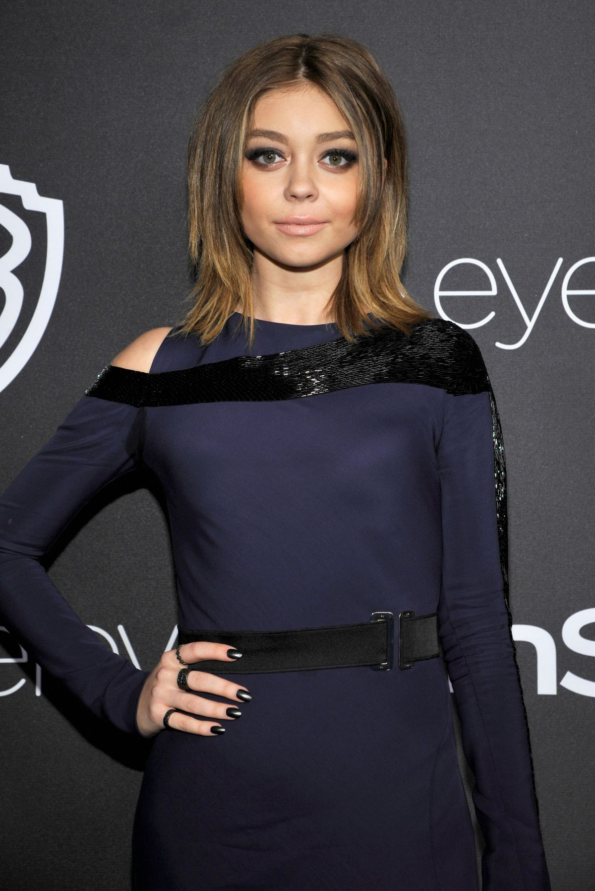 SARAH HYLAND at Warner Bros. Pictures & Instyle's 18th Annual Golden Globes Party in Beverly Hills 01/08/2017