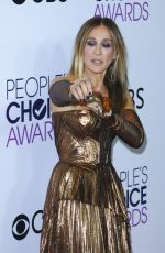 SARAH JESSICA PARKER at 43rd Annual People's Choice Awards in Los Angeles 01/18/2017