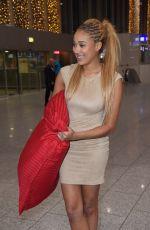 SARAH JOELLE JAHNEL at Airport in Frankfurt am Main 01/06/2017