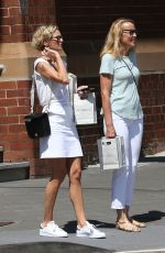 SARAH MURDOCH and JERRY HALL Out Shopping in Sydney 01/30/2017