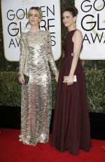 SARAH PAULSON and AMANDA PEET at 74th Annual Golden Globe Awards in Beverly Hills 01/08/2017