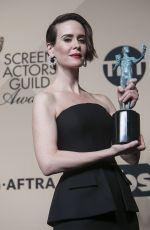 SARAH PAULSON at 23rd Annual Screen Actors Guild Awards in Los Angeles 01/29/2017