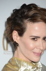SARAH PAULSON at 28th Annual Producers Guild Awards in Beverly Hills 01/28/2017