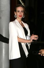 SARAH PAULSON at Catch LA in West Hollywood 01/29/2017