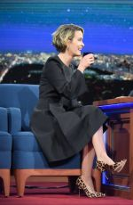 SARAH PAULSON at Late Show with Stephen Colbert 01/16/2017