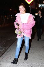 SARAH SNYDER Night Out in New York 01/26/2017