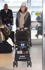 SAVANNAH GUTHRIE at JFK Airport in New York 01/19/2017