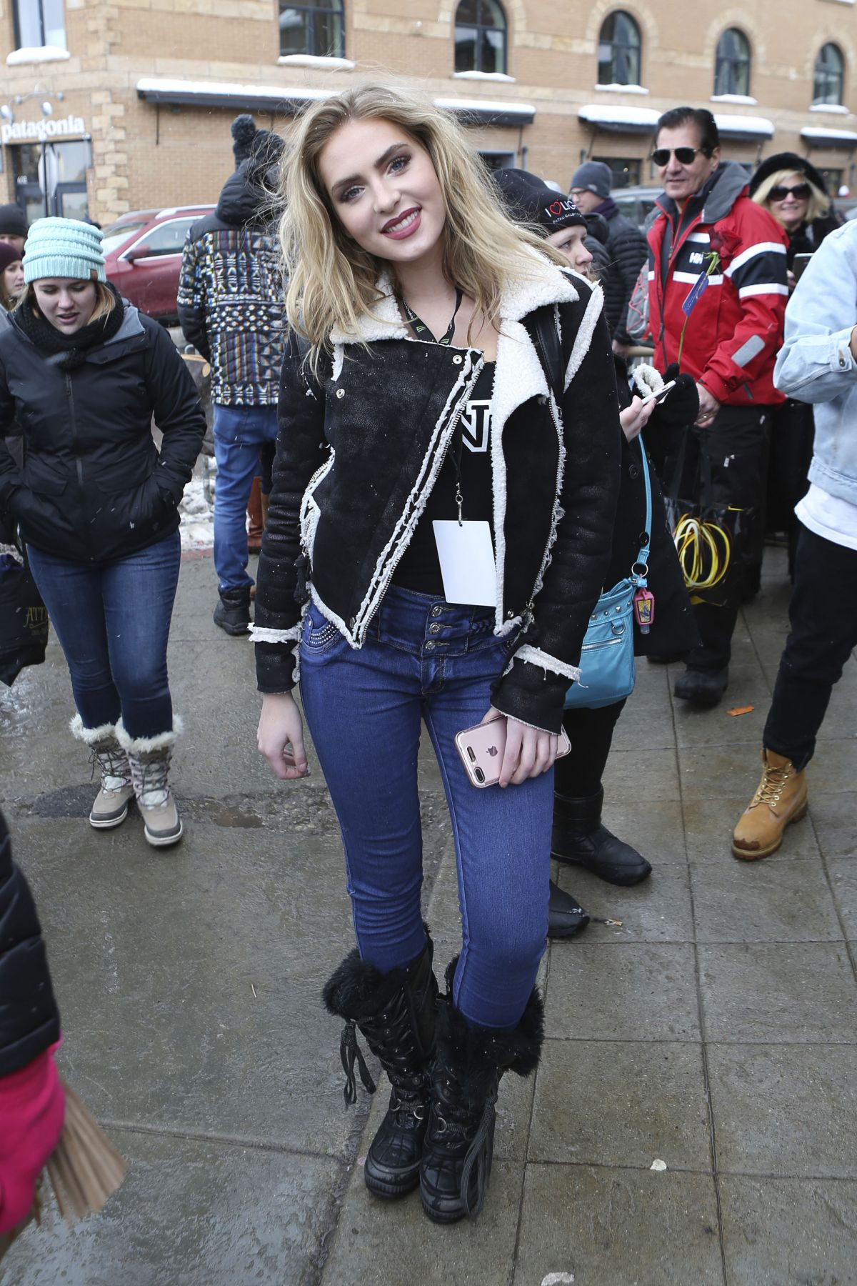 SAXON SHARBINO Out in Park City 01/21/2017