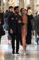 SELENA GOMEZ and The Weeknd at Galleria Dell