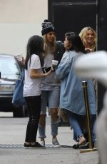SELENA GOMEZ Out and About in West Hollywood 01/16/2017