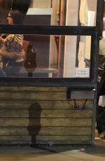 SELENA GOMEZ Out for Dinner in Sherman Oaks 01/17/2017