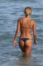 SELENA WEBER in Bikini at a Beach in Miami 01/30/2017