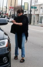 SELMA BLAIR Out and About in Ctudio City 01/04/2017