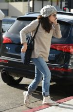 SELMA BLAIR Out and About in Los Angeles 01/11/2017
