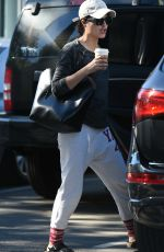 SELMA BLAIR Out and About in Los Angeles 01/29/2017