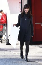 SELMA BLAIR Out and About in Studio City 01/01/2017