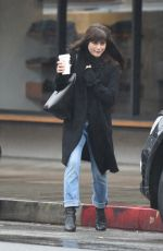 SELMA BLAIR Out for Coffee in Los Angeles 01/10/2017