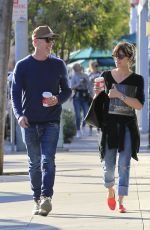 SELMA BLAIR Out in Beverly Hills 01/29/2017