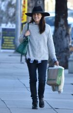 SELMA BLAIR Out Shopping in Studio City 01/21/2017