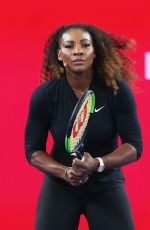 SERENA WILLIAMS at Wilson Racquet Promotiton in Melbourne 01/12/2017