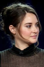 SHAILENE WOODLEY at 'Big Little Lies' Panel at 2017 TCA WInter Tour in Los Angeles 01/14/2017