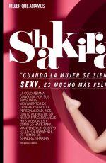 SHAKIRA in Cosmopolitan Magazine, Chile January 2017