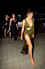 SHANINA SHAIK Arrives at SLS Hotel for New Year