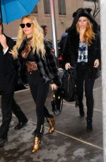 SHANNON BEX and AUNDREA FIMBERS Out in New York 01/28/2017