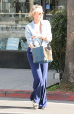 SHARON STONE Out for Lunch in Beverly Hills 01/30/2017