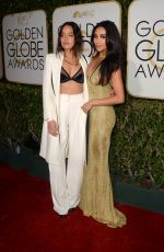 SHAY MITCHELL at 74th Annual Golden Globe Awards in Beverly Hills 01/08/2017