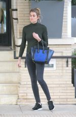 SHAYNA TAYLOR Out Shopping in Beverly Hills 01/05/2017