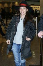 SHIRI APPLEBY Arrives in Salt Lake City 01/22/2017